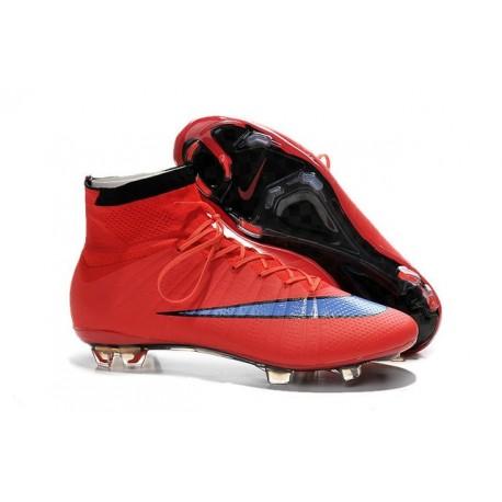 promo code e960f 0d510 Nike Scrapa Calcio Mercurial Superfly Iv FG Tacchetti Rosso