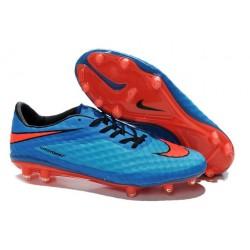 Nike Scarpe Calcio Uomo Hypervenom Phantom Fg Blu Rosso