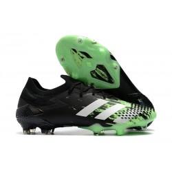 adidas Scarpe Predator Mutator 20.1 L FG Nero Verde Bianco