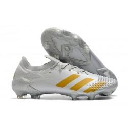 adidas Scarpe Predator Mutator 20.1 L FG Bianco Oro