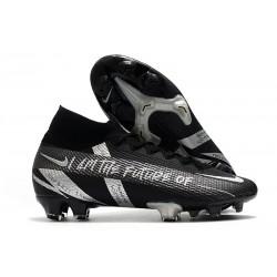 Scarpa Nike Mercurial SuperflyVII Elite FG Nero Argento