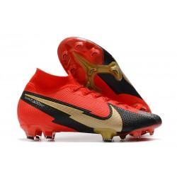 Scarpa Nike Mercurial SuperflyVII Elite FG Rosso Nero Oro