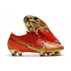 Scarpe Nike Mercurial Vapor 13 Elite FG - Ronaldo CR100 Rosso Oro