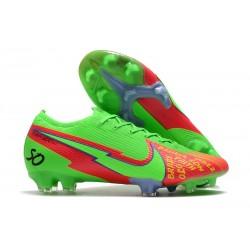 Scarpe Nike Mercurial Vapor 13 Elite FG - Faith Verde Rosso