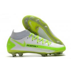 Nike Phantom GT Elite Dynamic Fit FG Bianco Verde