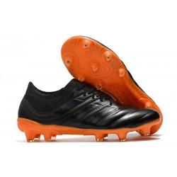 Scarpe calcio adidas Copa 19.1 FG da Adult - Nero Arancione