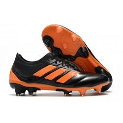 Scarpe calcio adidas Copa 19.1 FG da Adult - Arancio Nero