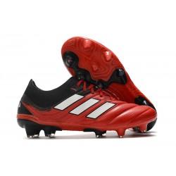 adidas - Copa 20.1 FG Scarpe da Calcio Rosso Bianco Nero