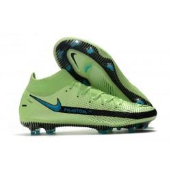Nike Phantom GT Elite Dynamic Fit FG Verde Blu