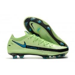 Nike Nuovo Scarpe da Calcio Phantom GT Elite FG Verde Blu Nero