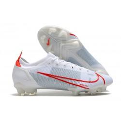 Nike Scarpe Mercurial Vapor 14 Elite FG Bianco Rosso