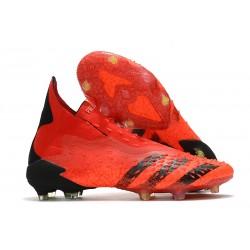 adidas Scarpa Predator Freak+ FG Rosso Nero Core Rosso Solare