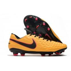Scarpe Nike Tiempo Legend 8 Elite FG Arancione Nero