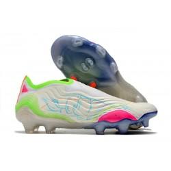 Scarpe adidas Copa Sense+ FG Bianco Giallo Rosa