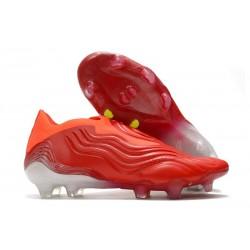 Scarpe adidas Copa Sense+ FG Rosso Solare Bianco