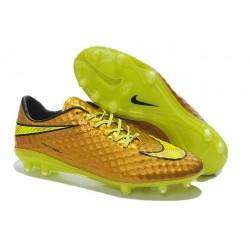 Nuove Scarpa Da Calcio Nike Hypervenom Phantom Fg ACC Neymar Oro