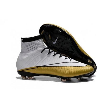 4526820d7 Fg Oro Scrapa Acc Da Calcio Superfly Nike Mercurial Cr7 Bianco HqnOpqYvw