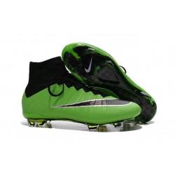 Scrapa da Calcio Nike Mercurial Superfly 4 FG ACC Verde Nero