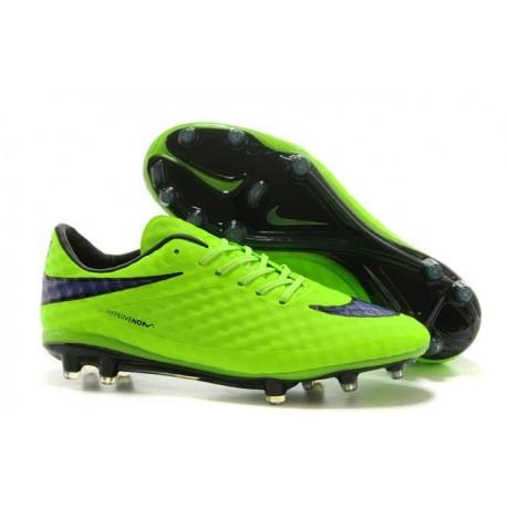 Nuove Scarpa Da Calcio Nike Hypervenom Phantom Fg ACC Verde Viola