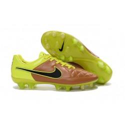 Scarpa da Calcio Nike Tiempo Legend 5 FG ACC Canvas Volt Nero