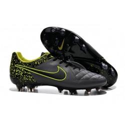 Scarpa da Calcio Nike Tiempo Legend 5 FG ACC Antracide Nero Volt