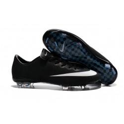 Scarpe de Calcetto Nike Mercurial Vapor X FG CR7 Nero Bianco