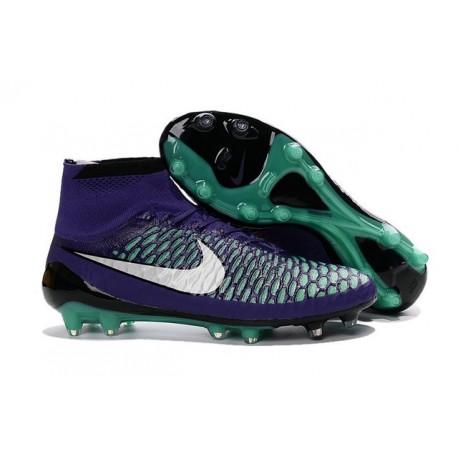 Nike Obra Nero Verde Scarpe Acc Calcio Magista Nuovo Fg Viola 0mN8vnw