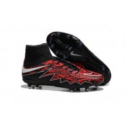 Scarpa Calcio Robert Lewandowski Nike Hypervenom Phantom 2 Terreni Duri FG Rosso Nero