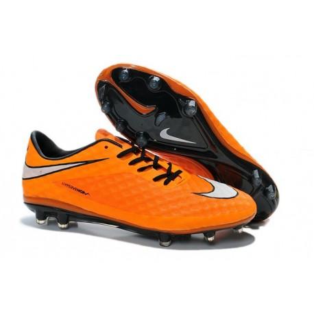 Nuove Scarpa Da Calcio Nike Hypervenom Phantom Fg ACC Arancio Bianco