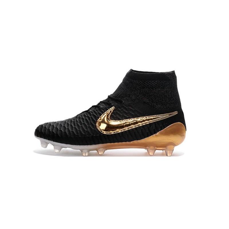 Scarpe Obra 2016 Uomo Calcio Nike Nero Oro Fg Magista NwO8n0XZkP