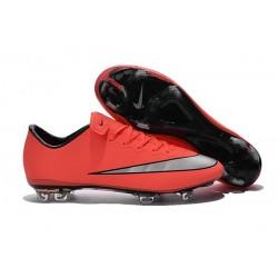 Nike Scarpette da Calcio Nuovo Mercurial Vapor X FG Mango Metallico