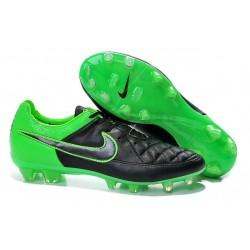 Nike Tiempo Legend V FG Scarpette da Calcio Nero Verde