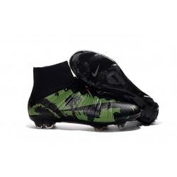 Cristiano Ronaldo Scarpette da Calcio Nike Mercurial Superfly FG ACC Camo Verde Nero
