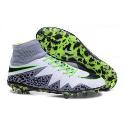 Scarpa da Calcio Nike Hypervenom Phantom 2 FG ACC Bianco Verde Nero