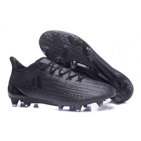 Scarpa da Calcio Nuovo 2016 Adidas X 16.1 FG Tutto Nero