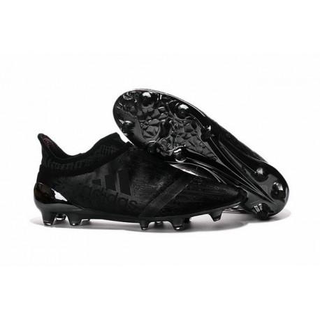 Nuove 2016 Adidas X 16+ Purechaos FG Scarpe da Calcetto Tutto Nero