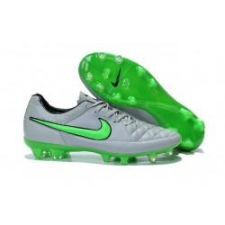 Nike Tiempo Legend V FG Scarpette da Calcio Grigio Verde