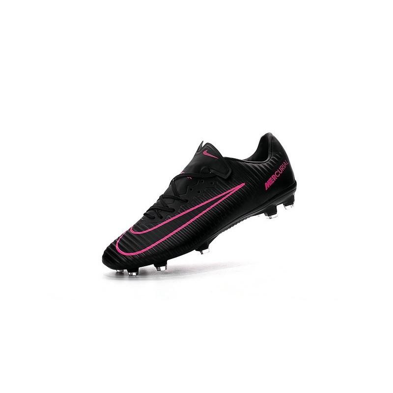 Rosa Calcio Nike Vapor Fg 2016 Nero Xi Da Mercurial Nuove Scarpe BoderCx
