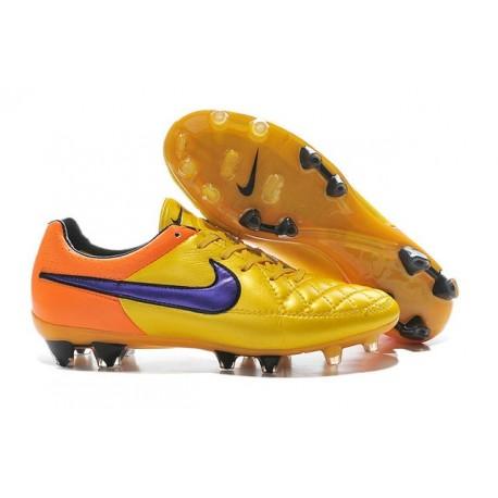 02c53493d82e5 Scarpa da Calcio Nike Tiempo Legend 5 FG Arancio Giallo