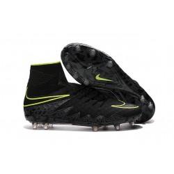 Scarpa da Calcio Nike Hypervenom Phantom 2 FG ACC Nero Verde