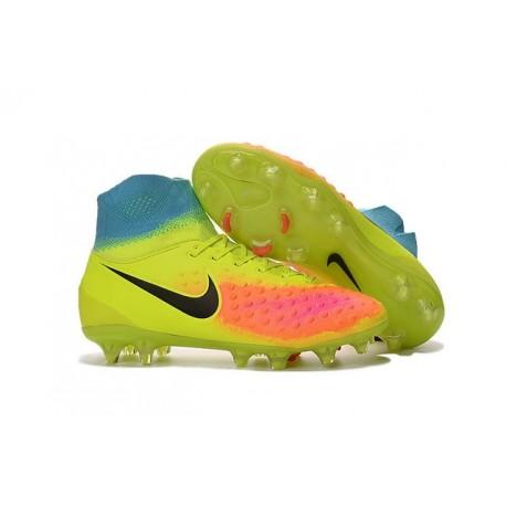 Scarpa Calcio Nike Magista Obra 2 FG ACC Cremise Nero Arancio cbb558a025a