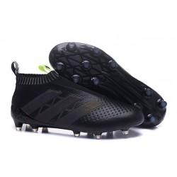 Scarpe da Calcio Nuove adidas Ace16+ Purecontrol FG Nero Giallo