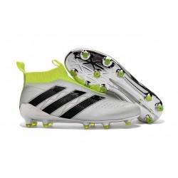 Scarpe da Calcio Nuove adidas Ace16+ Purecontrol FG Metallico Giallo Nero