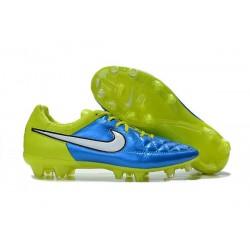 Scarpa da Calcio Nike Tiempo Legend 5 FG Blu Verde Bianco