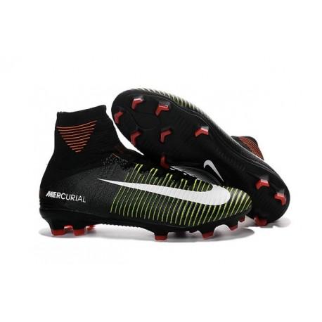 V Scarpe 2016 Calcio Superfly Bianco Nuove Fg Mercurial Nero Nike Da fwHgn0q06