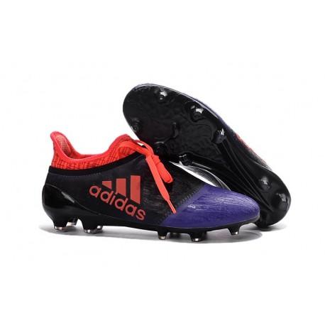 Scarpe da Calcio 2016 Adidas X 16+ Purechaos FG Nero Viola