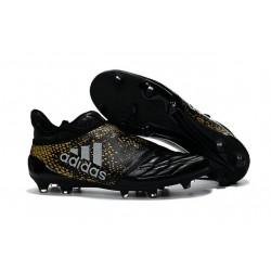 Adidas X 16+ Purechaos FG Nuovo Scarpa da Calcio Nero Oro Metallico