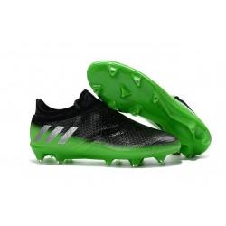 Scarpa da Calcio adidas Messi 16+ Pureagility FG Uomo Nero Verde