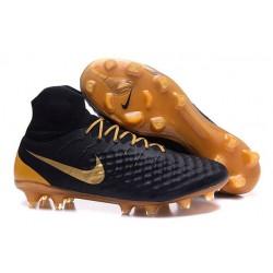 Scarpa Calcio Nike Magista Obra 2 FG ACC Nero Oro