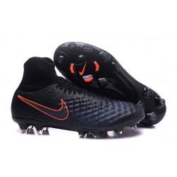 Scarpa Calcio Nike Magista Obra 2 FG ACC Nero Arancio